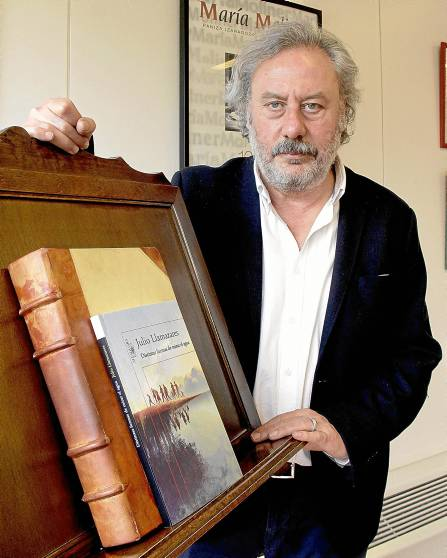 17/02/2015  JOSE LUIS MONTERO  Julio Llamazares, escritor.