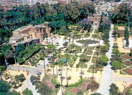 La Plaza de América alberga dos de los museos más importantes de la ciudad. / El Correo