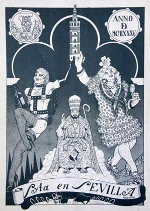 Una de las viñetas de Nazario que destararon la polémica en la ciudad por su osadía./ El Correo