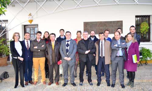 Los participantes en los desayunos de El Correo de Andalucía patrocinados por Cobre Las Cruces