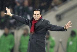 Emery, en el Borussia Park (Efe)