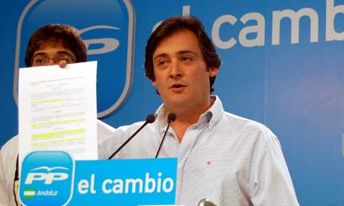 Eloy Carmona, concejal de Tomares.