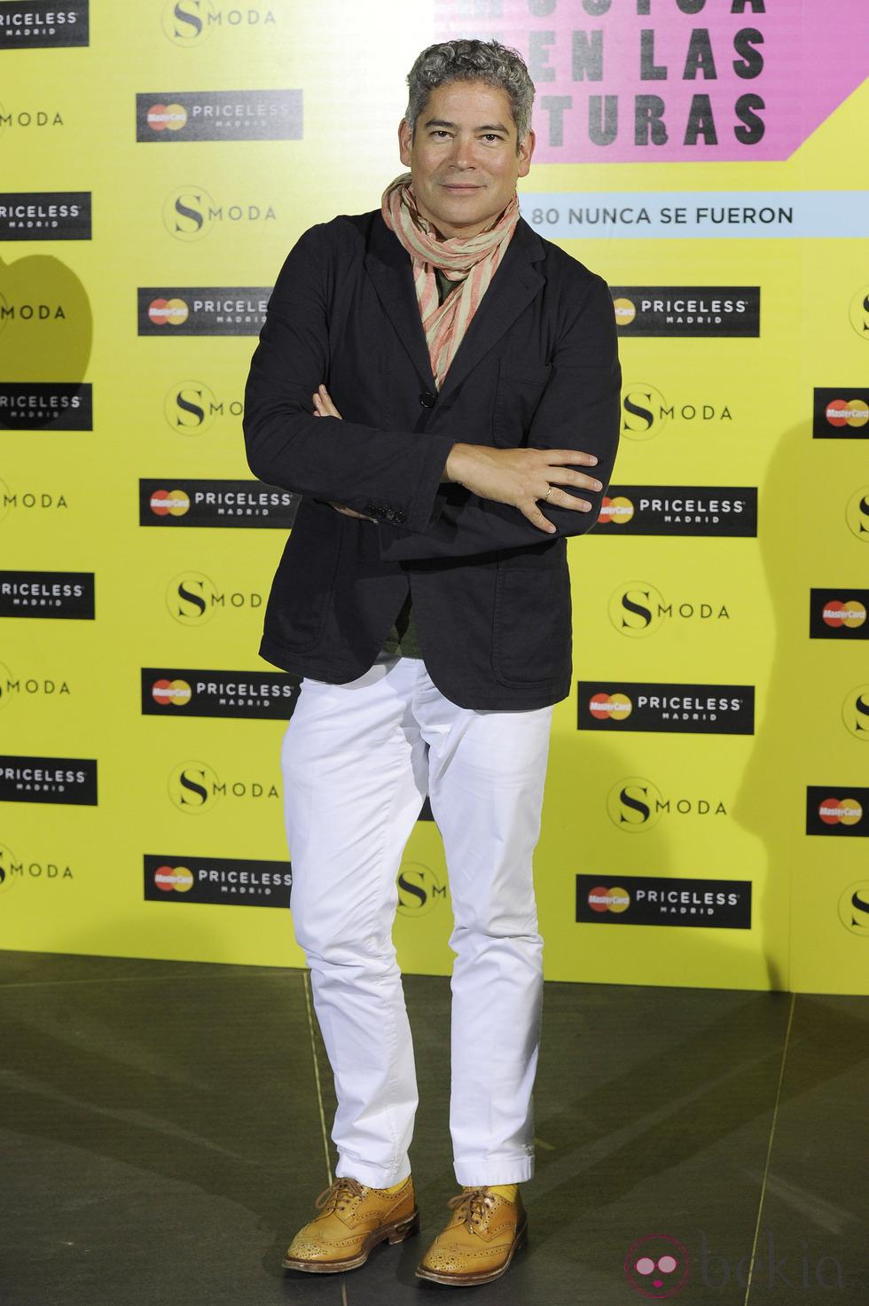 El escritor y presentador Boris Izaguirre. / El Correo