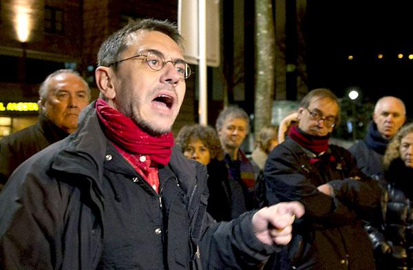 Juan Carlos Monedero. / EFE