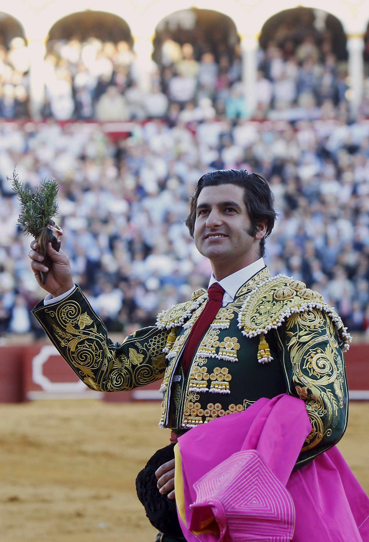 Morante de la Puebla en la Maestranza, en 2010, una imagen que no se repetirá en 2015. / Eduardo Abad (Efe)