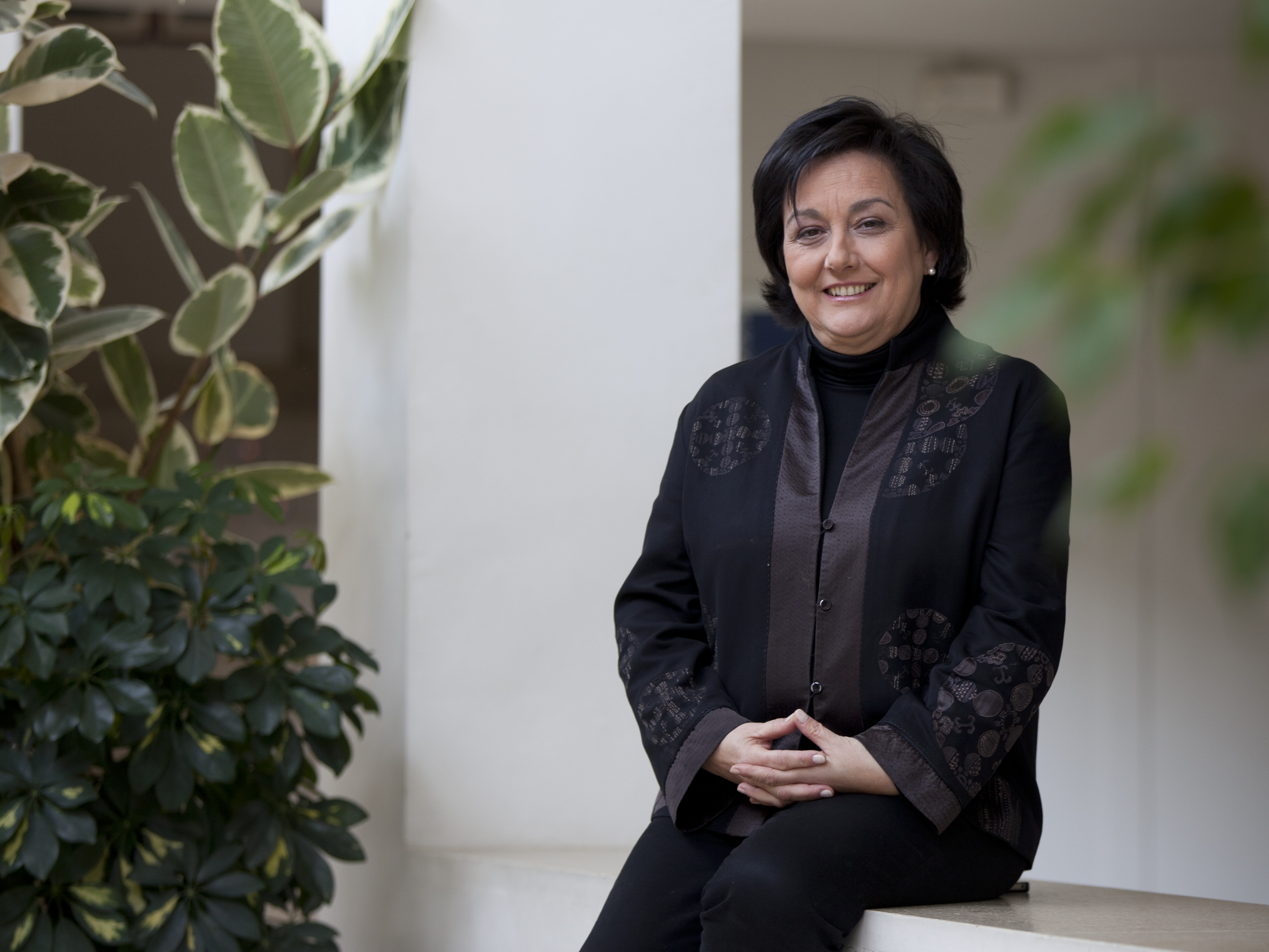 La responsable de la Semana de Música Religiosa de Cuenca, Pilar Tomás. / El Correo