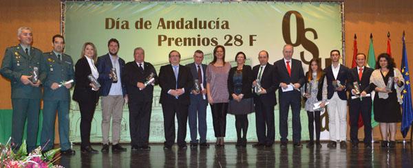 premios 28F Provincia Sevilla