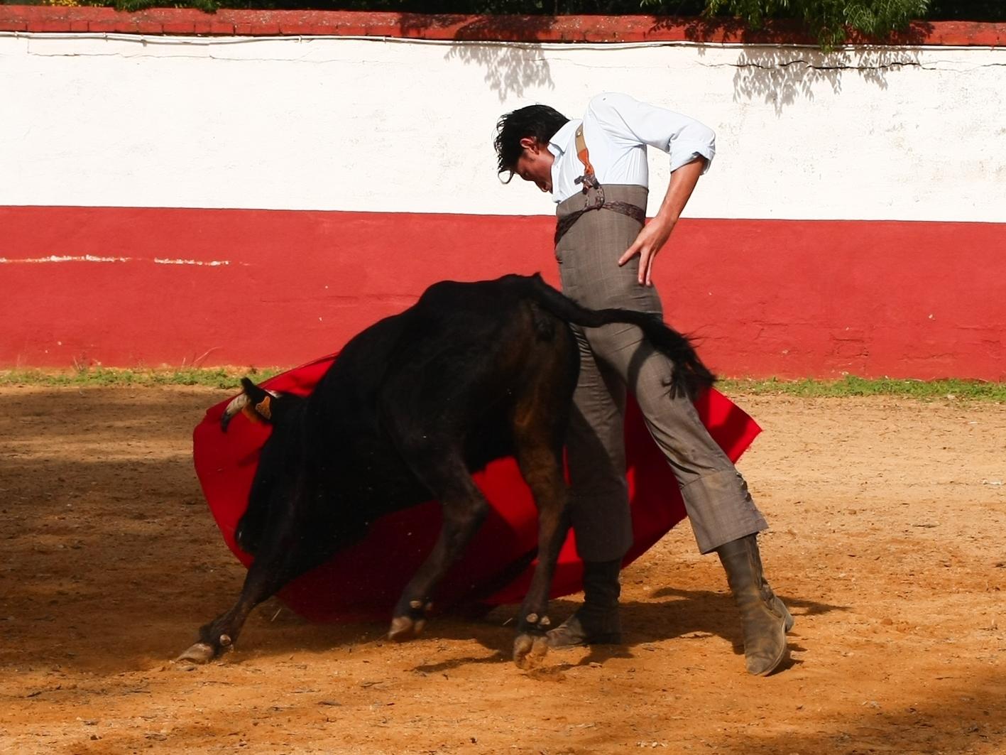 La exigente escuela del campo ha sido fundamental en la puesta a punto de Ángel Jiménez, que ya se encuentra recuperado. / J.R. Pigne