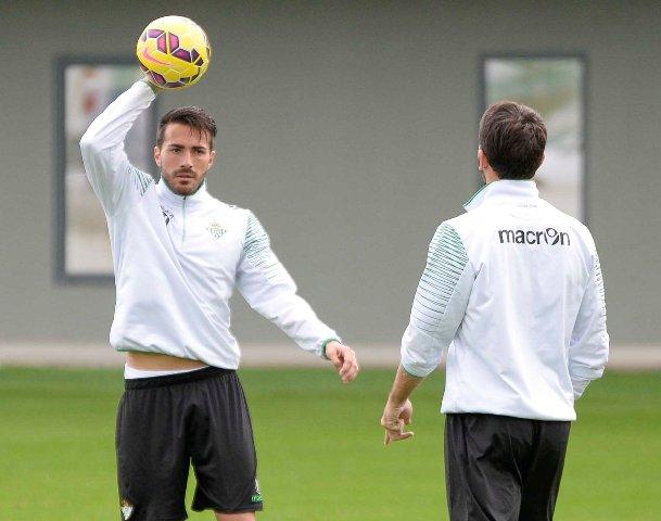 Xavi Torres, en un entrenamiento / Foto: Inma Flores