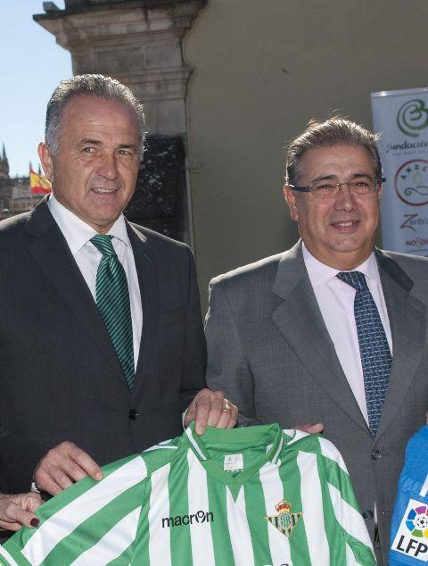 Juan Ignacio Zoido, junto a Rafael Gordillo / Foto: EFE