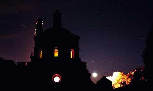 El cielo de la Sierra Norte fue declarado reserva Star Light por la Unesco. / Fotos: Sevilla Nigth Sky