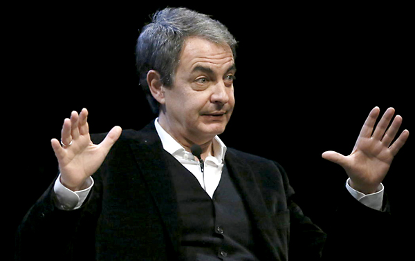 El expresidente del Gobierno José Luis Rodríguez Zapatero. / EFE