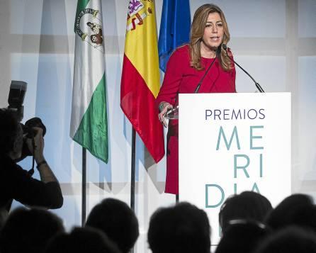 LA ALCALDESA DE PARÍS Y CONCHA CABALLERO PREMIOS MERIDIANA 2015