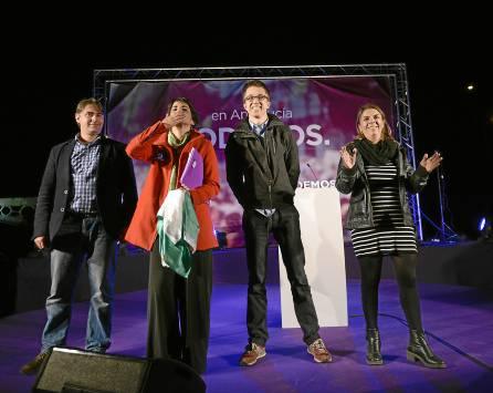 Sevilla 6-3-2015 Mitin de Podemos (Muelle de la Sal)foto: Inma Flo