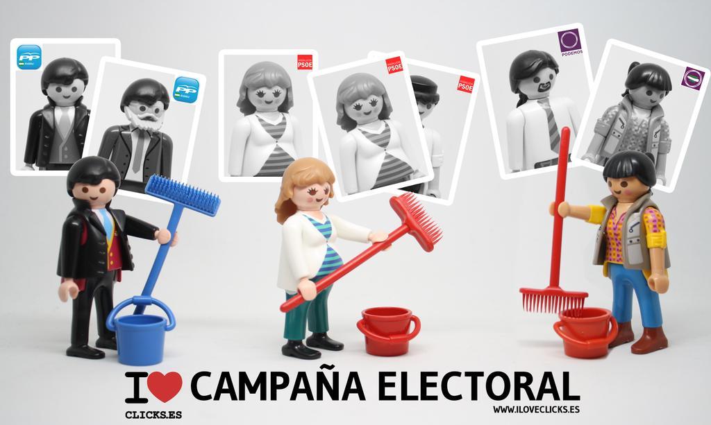Hasta los clicks han parodiado la campaña electoral andaluza.