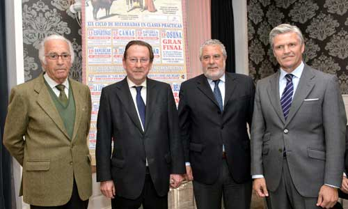 De Llera con Espartaco y Tito San Bernardo.