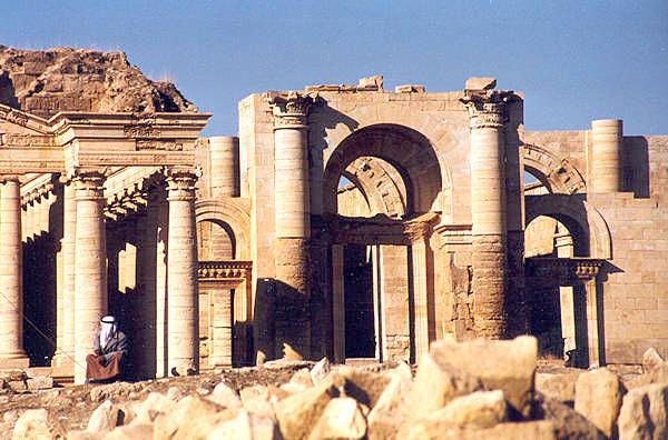 Las ruinas de Hatra. / El Correo