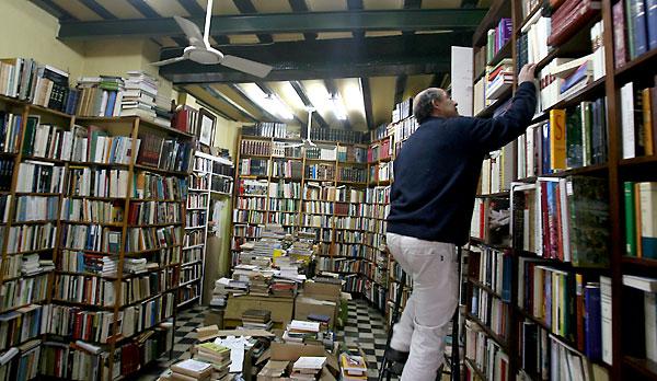 Una librería de Sevilla. / Antonio Acedo