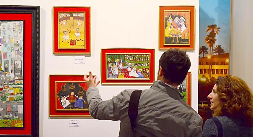 La exposición puede verse en el Cortijo de la Gota de Leche hasta el 27 de marzo / Jesús Barrera
