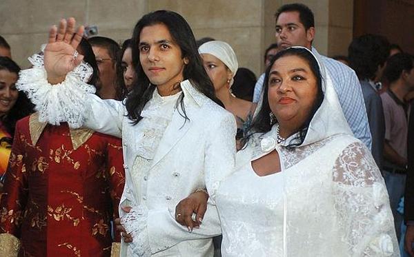 Pilar Montoya, en la boda de su sobrino Farruquito. / EFE